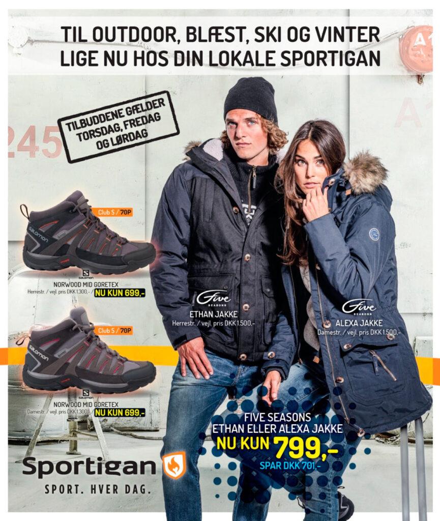 Sportigan katalog for uge 40 på gaden nu