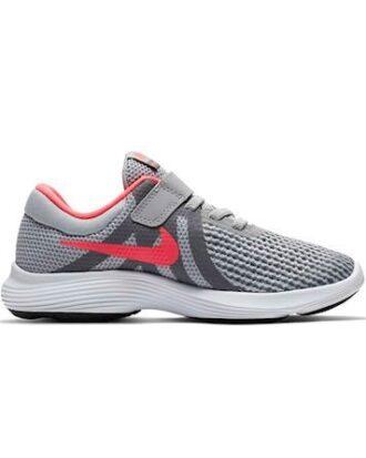Nike Sko Revolution 4 (PSV) Grå-Lyserød Børn
