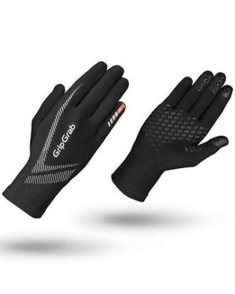 Grip Grap Løbehandsker Ultra Light touchscreen Sort Unisex
