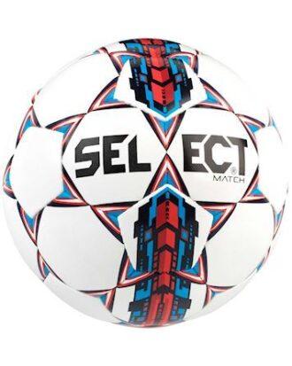 Select Fodbold Match Hvid-Rød-Blå Unisex