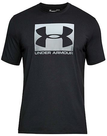 Under Armour T-shirt Under Armour Boxed Black Herre