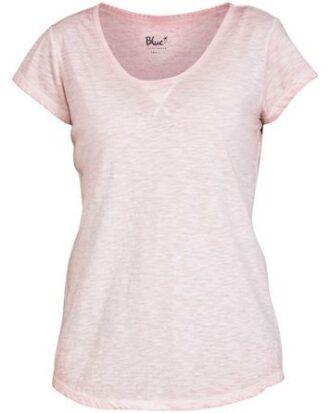 Blue Sportswear Juana SS Tee T-shirt Rosa Dame