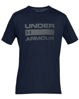 Under Armour T-shirt Team Issue Wordmark navy Herre