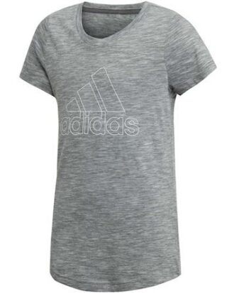 Adidas YG ID Winner T T-shirt Grå Pige