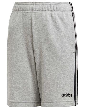Adidas YB E 3S KN SH Shorts Grå-Sort Drenge