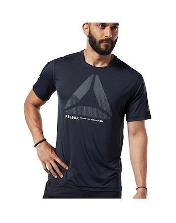 Reebok OST ActivChill Move  T-shirt Sort Herre