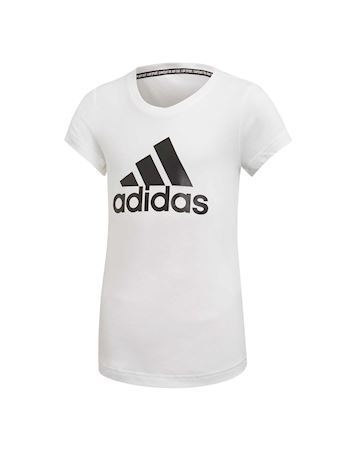 Adidas Bos T-shirts Hvid-sort Børn