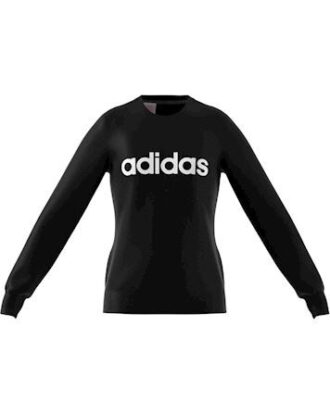 Adidas YG E LIN Sweat Trøje Sort Pige