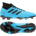 Adidas Predator 19.3 FG Fodboldstøvler Lyseblå-Sort Herre