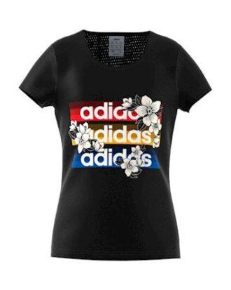 Adidas YG C T X FARM T-shirt Sort Pige