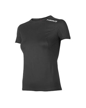 Fusion C3+ T-shirt Sort Dame