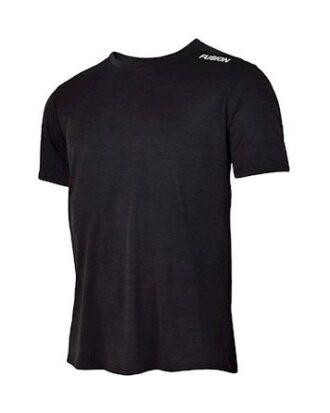 Fusion C3  T-shirt Sortmelange Dame
