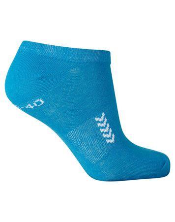 Hummel Ankle Sock 5 par Ankelstrømper Blå Unisex