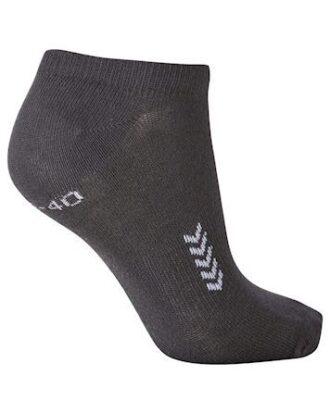 Hummel Ankle Sock 5 par Ankelstrømper Grå Unisex