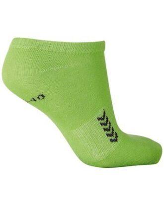 Hummel Ankle Sock Ankelstrømper 5 par Grøn Unisex