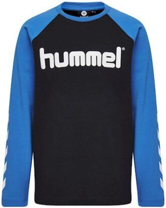 Hummel HMLBoys T-shirt Sort-Blå Drenge