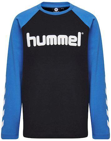 Hummel HMLBoys T-shirt Sort-Blå Drenge