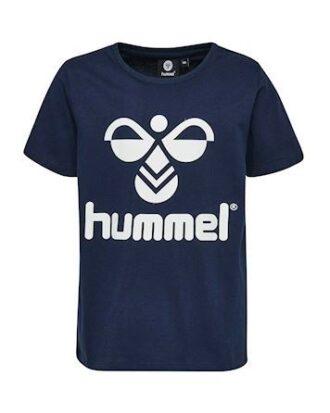 Hummel Tres T-shirts Mørkeblå-Hvid Børn