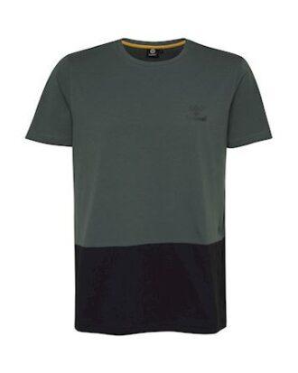 Hummel ROLF T-shirt Grøn-Blå Herre