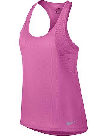 Nike Women's Running Tank  Tank-Top Pink Dame