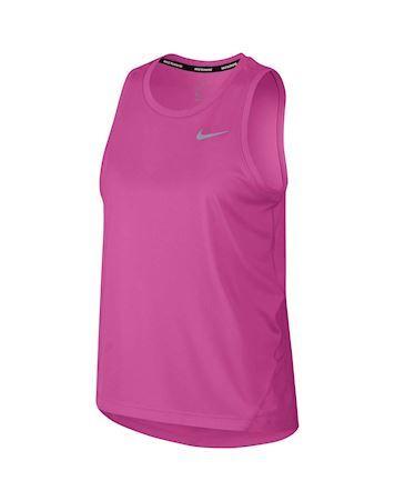 Nike Miler Running Tank Top Pink Dame