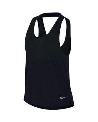 Nike Breathe Dri-FIT Miler løbetop Løbetop Sort Dame