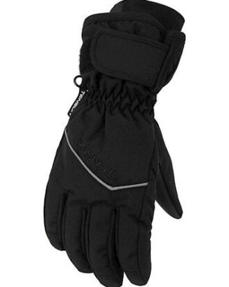 Tenson Edge Jr Gloves Vinterhandske Sort Drenge