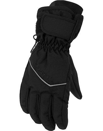 Tenson Edge Jr Gloves Vinterhandske Sort Drenge