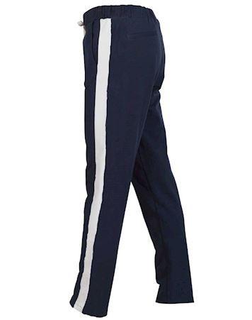 Blue Fritidsbukser Alberte Pants Navy Dame