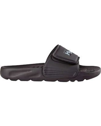 H2O Bathshoe Adjustable Badesandaler med velcro Sort-Hvid Unisex