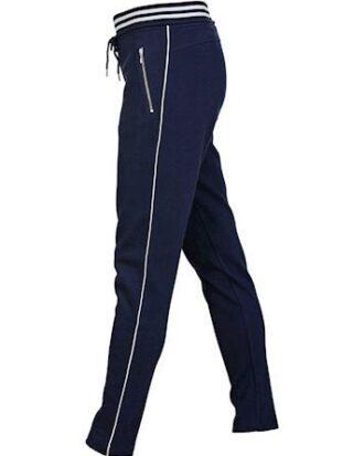 Blue Bukser Isabella Pants Navy Dame