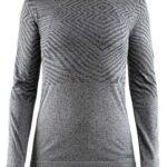 Craft Ls Løbe T-shirt Cool Comfort She Rn Ls W Sort Melange Dame