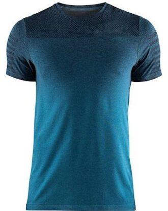 Craft Løbe t-shirt Core Fuseknit DIP Tee Blå-Grå Herre