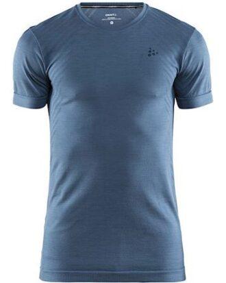 Craft T-shirt Fuseknit Comfort RN SS M Lyseblå Herre