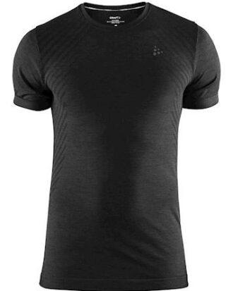 Craft Løbe t-shirt Fuseknit Comfort RN SS  Sort Herre