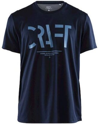 Craft T-shirt Eaze SS Craft Mesh Tee M Blå Herre