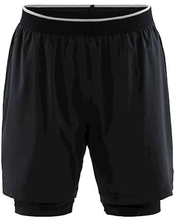 Craft Shorts Charge 2-IN-1 shorts Sort Herre