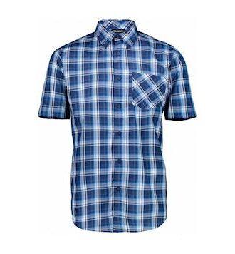 CMP Functional Shirt Sh.Sleeve Skjorte Blå Herre