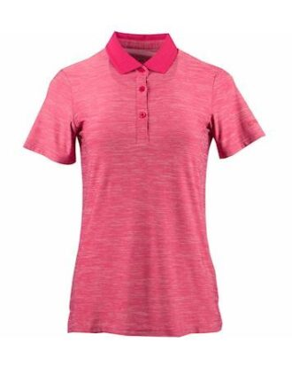 CMP Stretch Melange Polo Pink Dame
