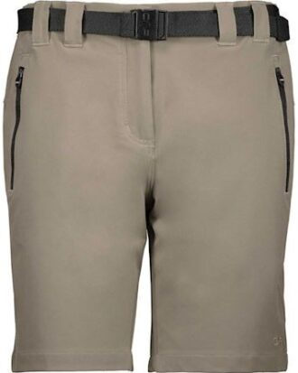 CMP 4-Way Stretch Bermuda Shorts Sand Dame
