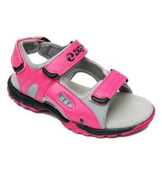 Zig Zag Bassano Open Sandal Sandaler Pink Børn