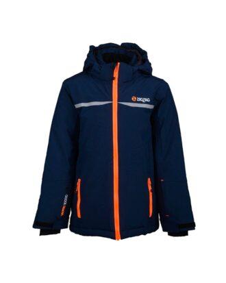 Zig Zag Sising Ski Jacket W-Pro 10000 Skijakker Blå Børn