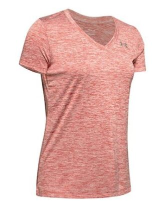 Under Armour Tech SSV T-shirt Lyserød Dame