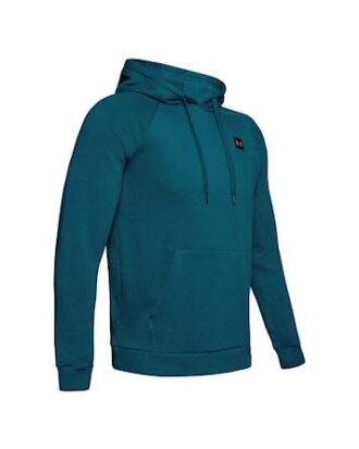 Under Armour RIVAL Hooded Sweat Blå Herre