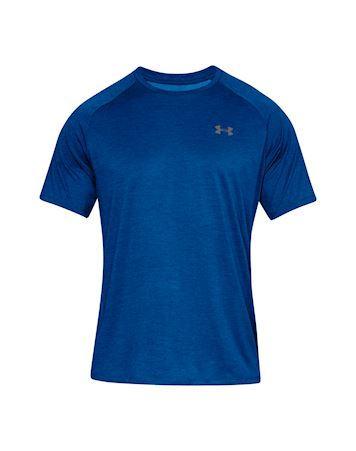 Under Armour UA TECH 2.0 T shirt Blå Herre