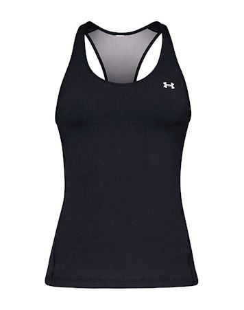 Under Armour Racer Tank T-shirts Sort Dame