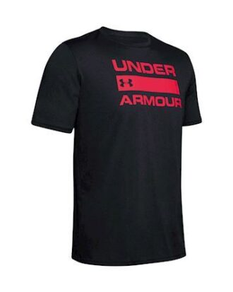 Under Armour UA TEAM ISS T-shirt Sort Herre
