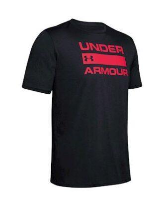 Under Armour UA TEAM ISS T-shirt Sort Herre