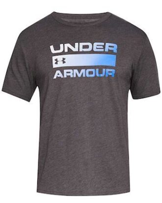Under Armour Team Issue Wordmark SS T-shirt Grå-Blå Herre