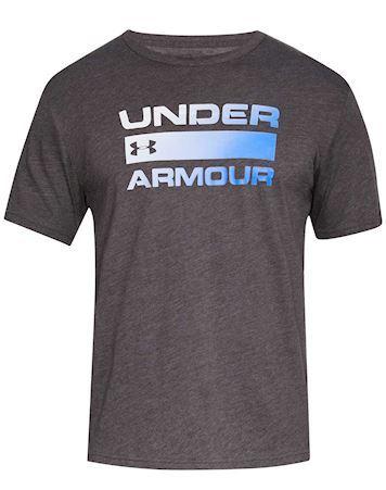 Under Armour Team Issue Wordmark SS T-shirt Grå-Blå Herre